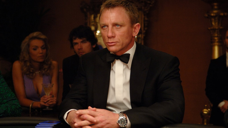Daniel Craig som James Bond i 2006 års film Casino Royale