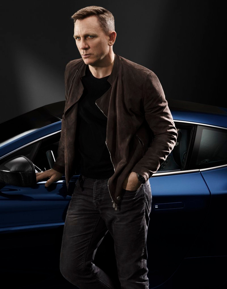 Daniel Craig Aston Martin Christies