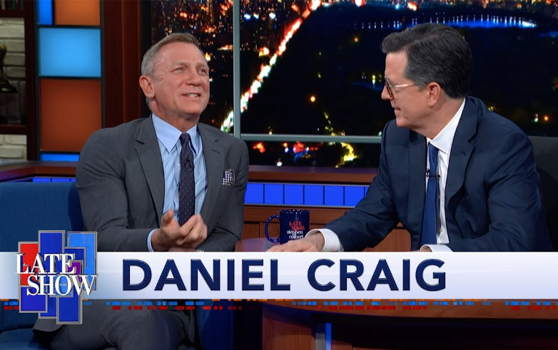 Daniel Craig The Late Show with Stephen Colbert
