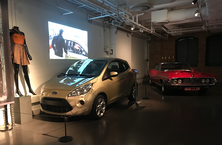 Ford Ka from Quantum of Solace & Ford Cougar from On Her Majesty's Secret Service at Bond in Motion