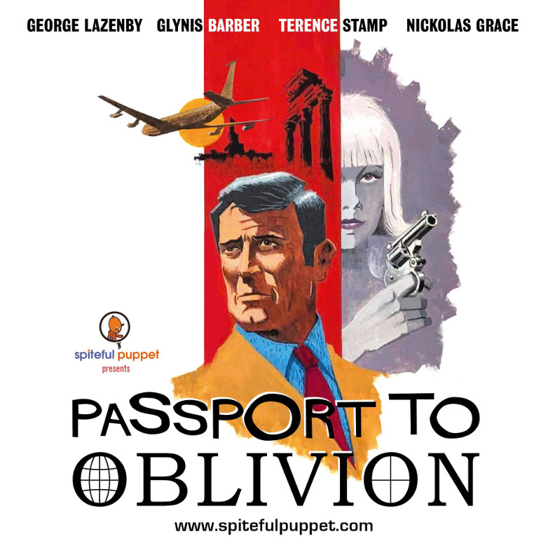 George Lazenby Passport to Oblivion