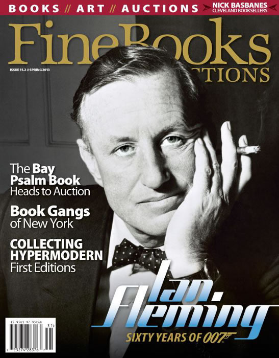 Ian fleming james bond at 60 fine books mag