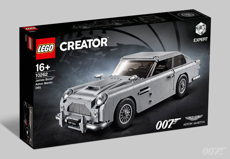 LEGO Creator Expert James Bond Aston Martin DB5 box