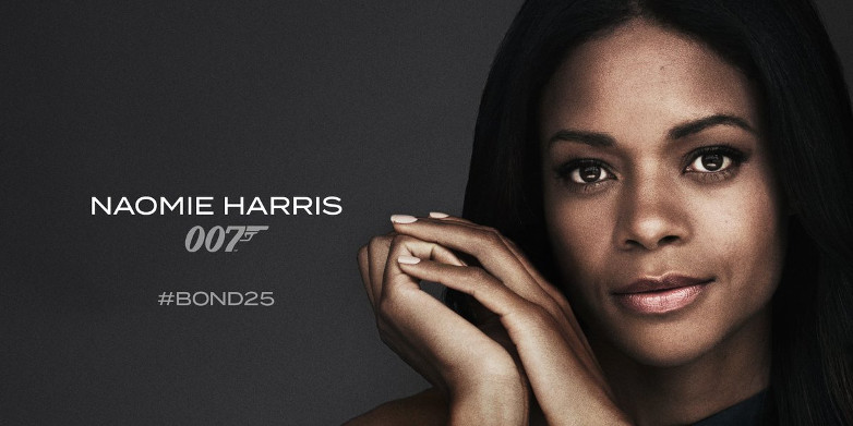 Naomie Harris as Moneypenny in Bond 25