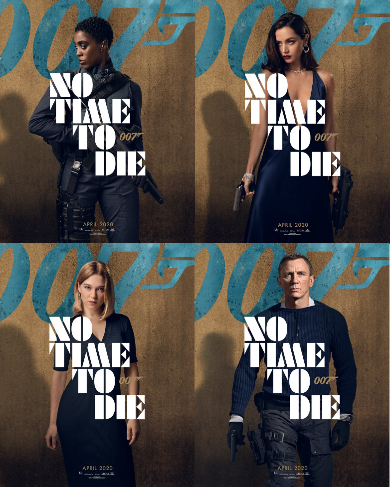 No Time To Die character posters