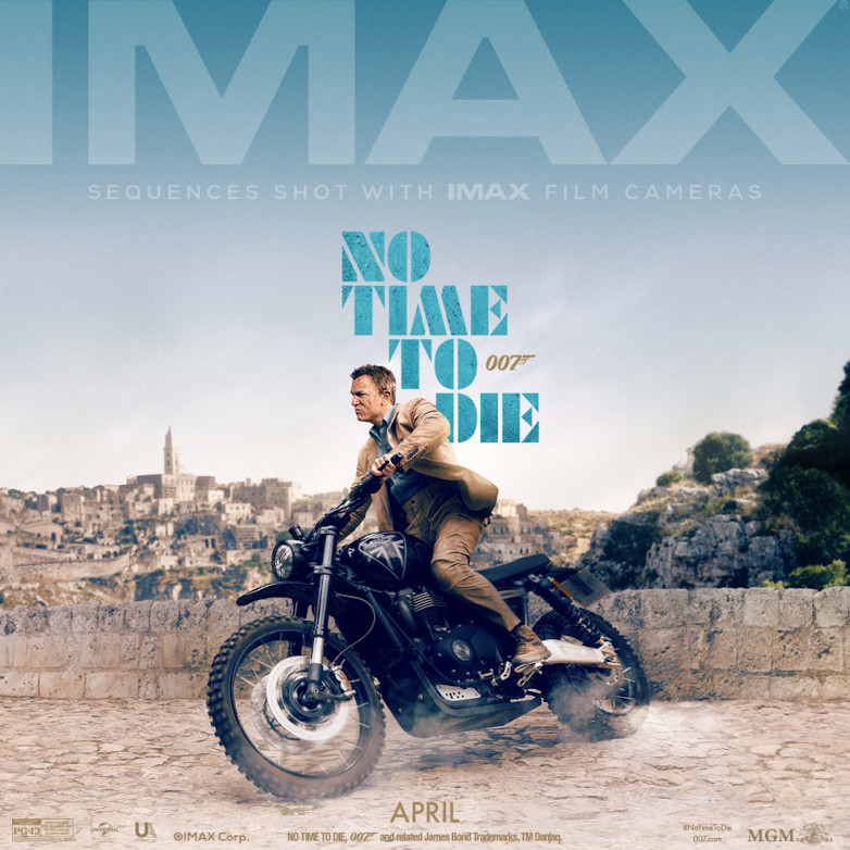 No Time To Die IMAX poster affisch