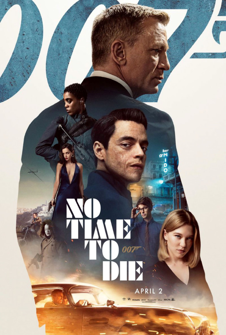 No Time To Die International Poster