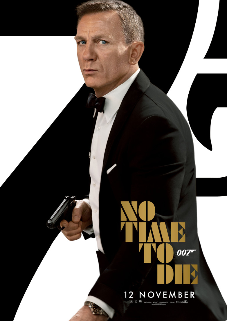 No Time To Die Bond 25 official trailer