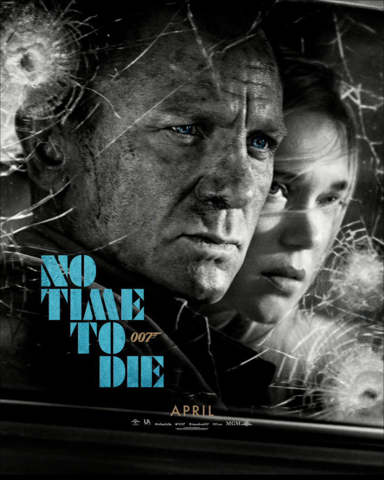 No Time To Die poster James Bond Madeline Swann