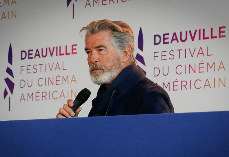 Pierce Brosnan at the press conference in Deauville 2019