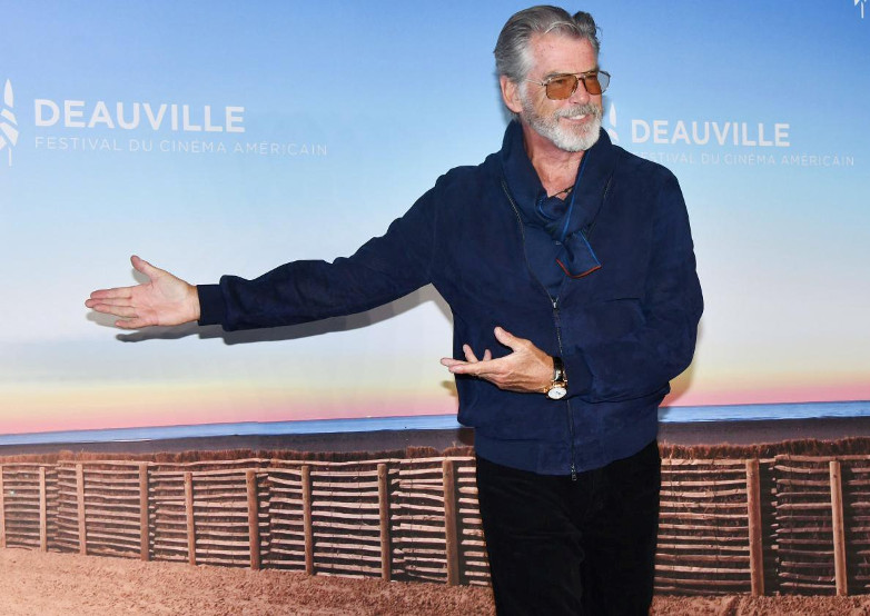 Pierce Brosnan at the American film festival in Deauville 2019
