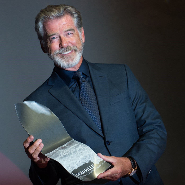 Pierce Brosnan Deauville Talent Award