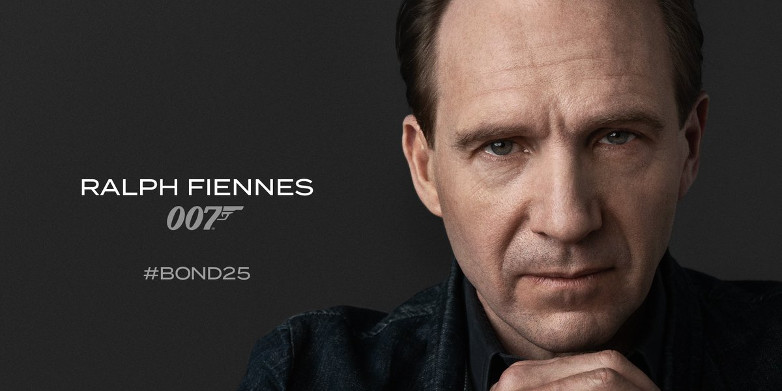 Ralph Fiennes as M in Bond 25
