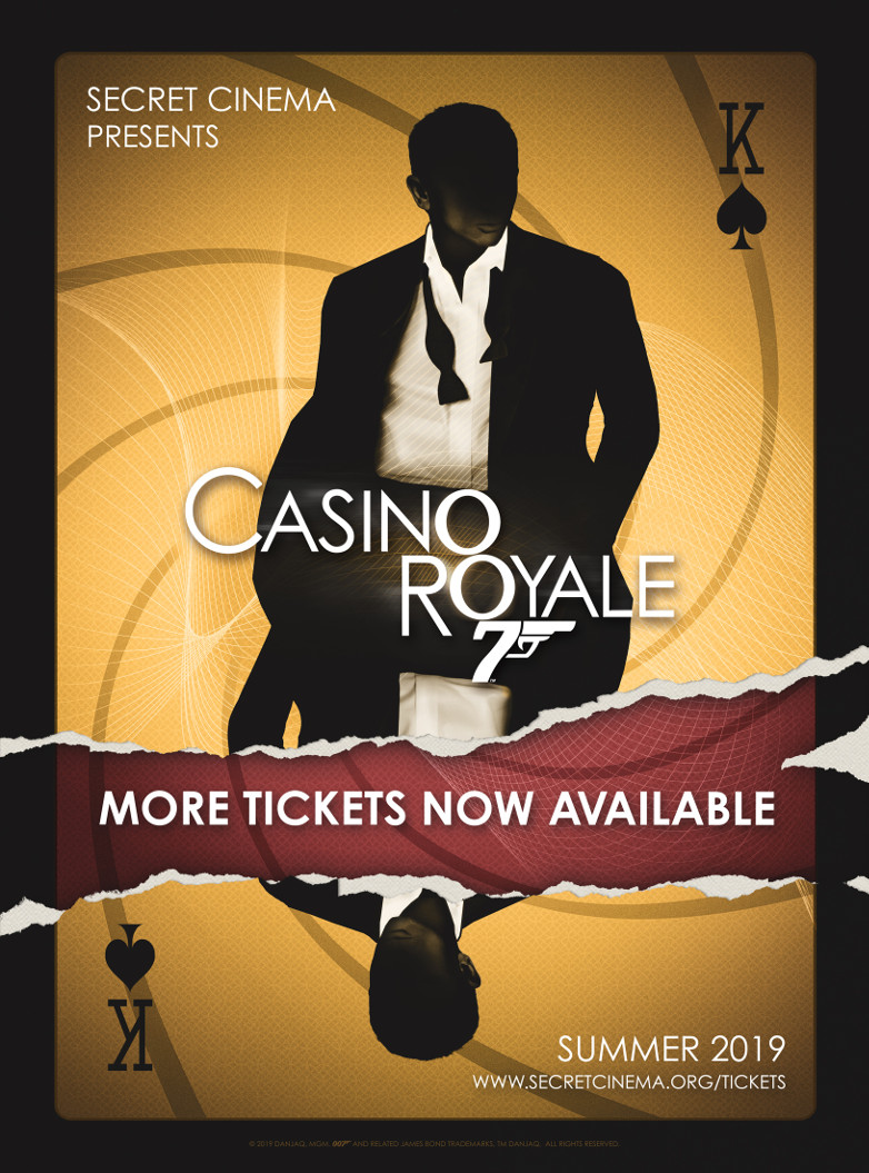 Secret Cinema Casino Royale tickets