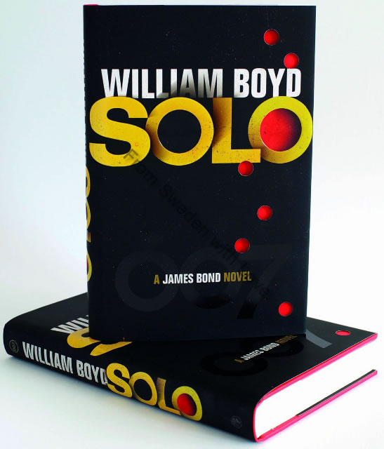 Solo james bond novel william boyd in Swedish