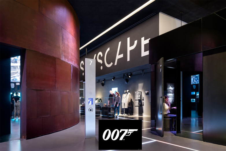 SPYSCAPE James Bond museum New York