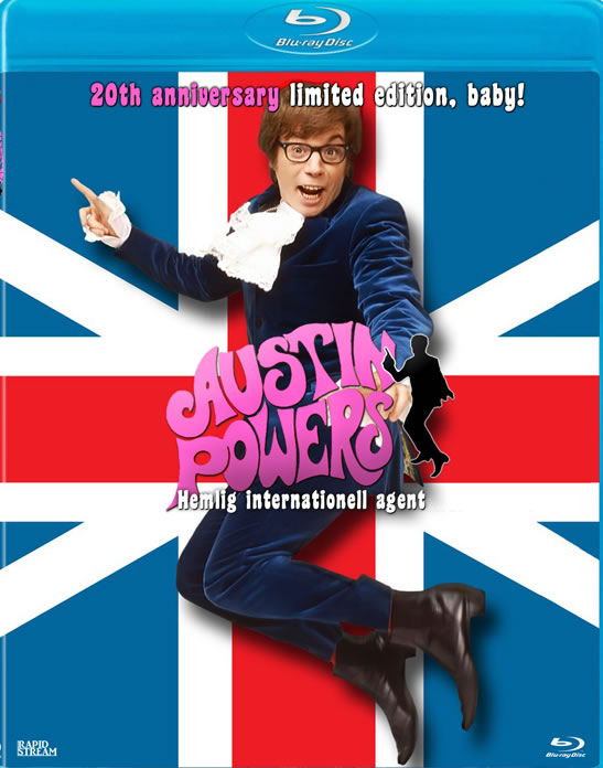 Austin Powers hemlig internationell agent