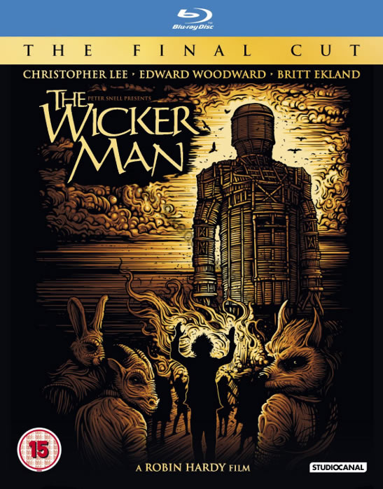 Britt Ekland The Wicker Man Blu ray 2013