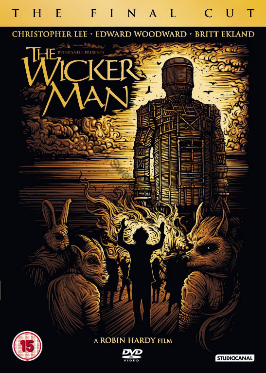Britt Ekland The Wicker Man DVD 2013