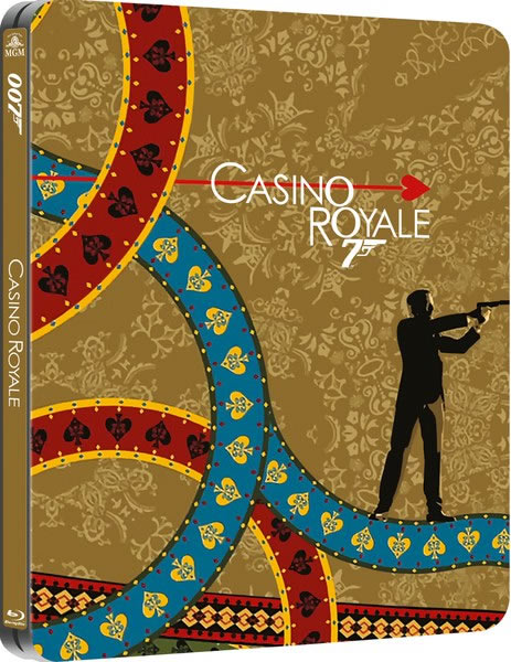 Casino Royale limited edition steelbook Bluray