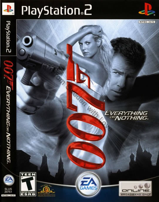 Everything or Nothing video game 2004 PS2