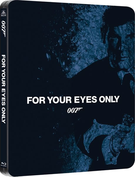 For Your Eyes Only steelbook Blu ray