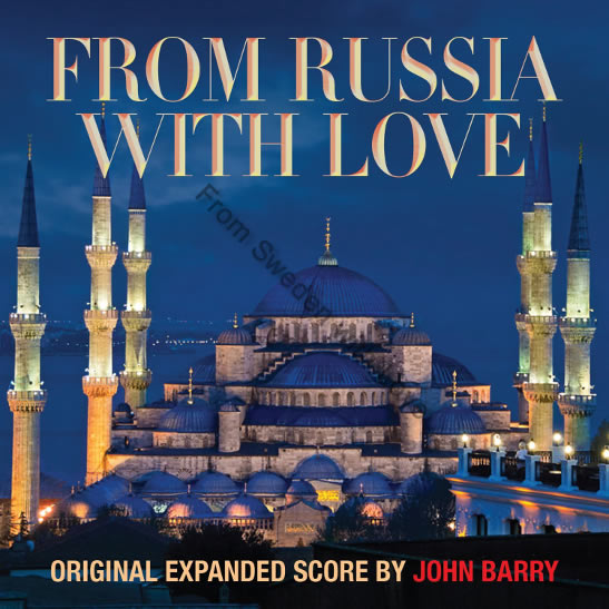 From Russia with Love anniversary soundtrack