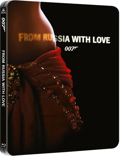 From Russia with Love steelbook Blu ray