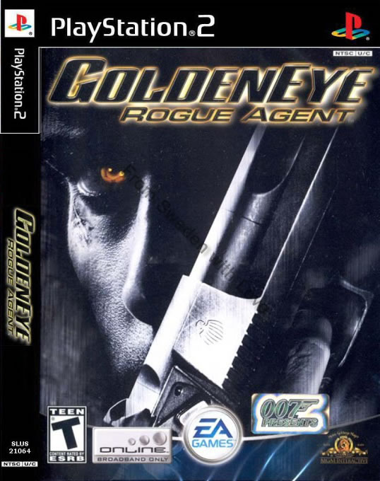 GoldenEye Rogue Agent video game 2004 PS2