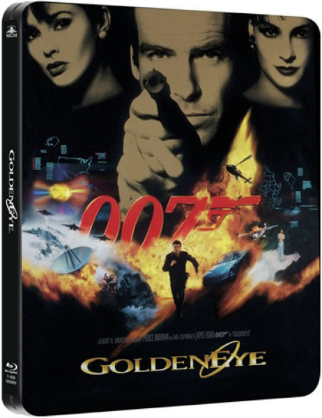 GoldenEye limited edition steelbook Blu ray