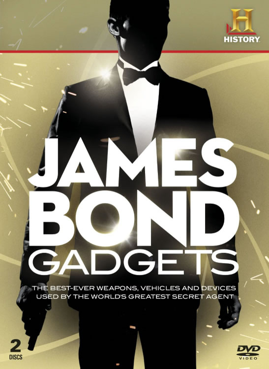 History Channel James Bond gadgets