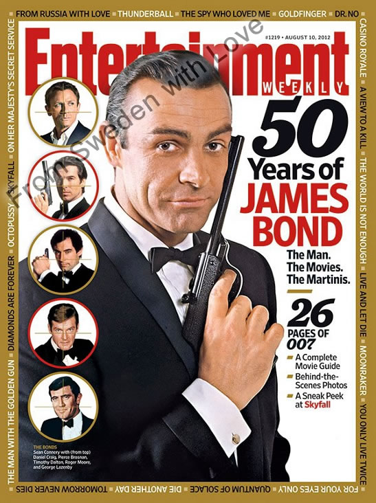 Entertainment Weekly James Bond 50th