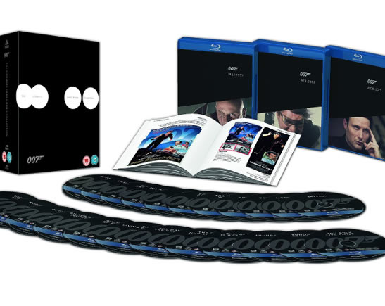 James Bond Blu ray Collection set 2015