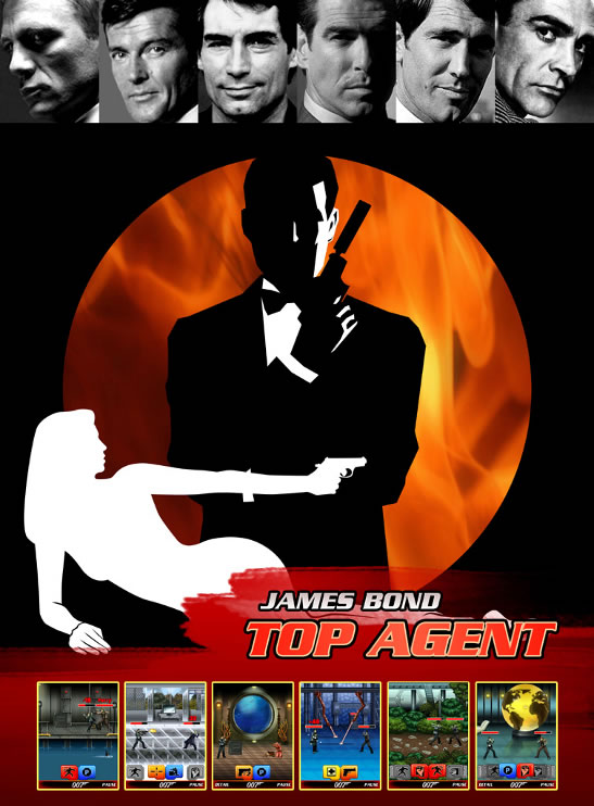 James Bond World of Espionage Glu game 2015