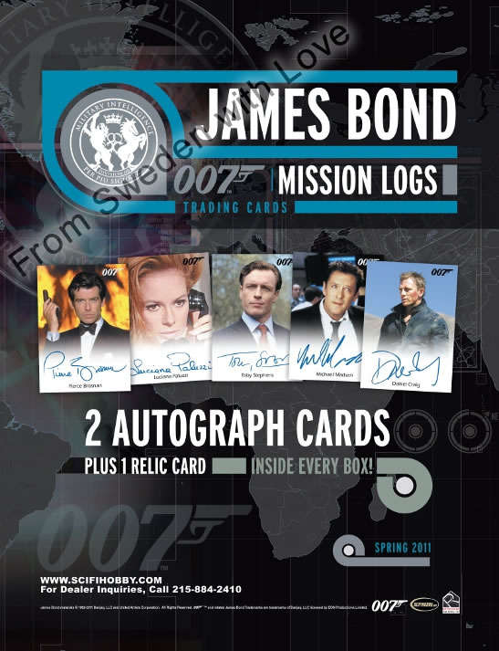 James Bond Mission Logs