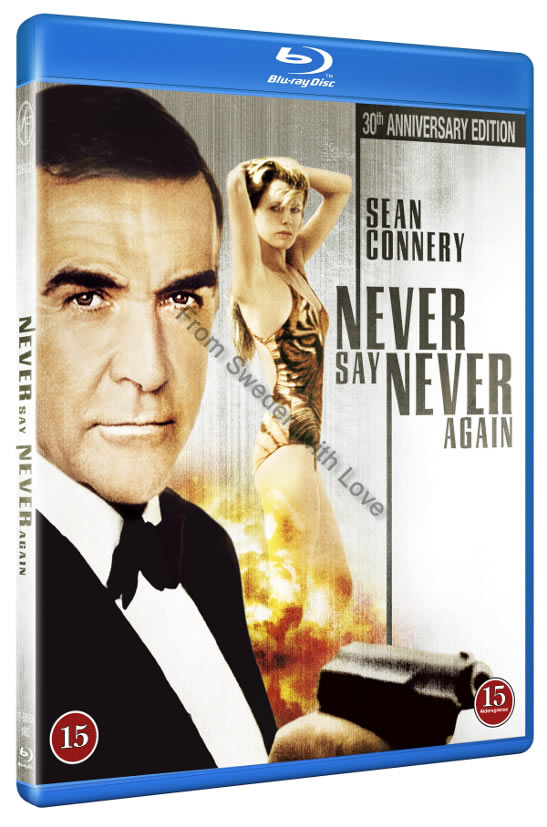 Never Say Never Again Blu ray 2013