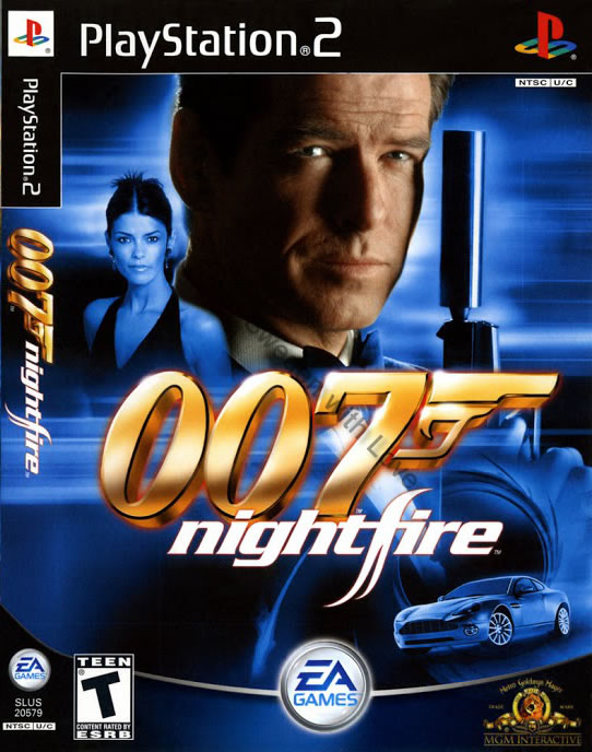 Nightfire video game 2002 PS2