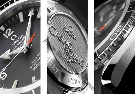 Omega Planet Ocean Casino Royale 2006 watch