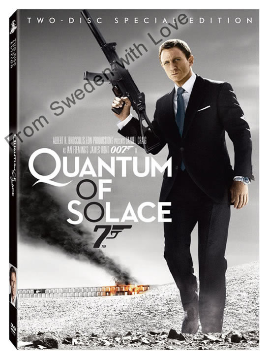 Quantum of Solace DVD two disc