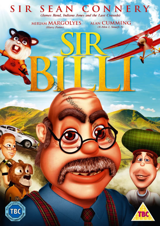 Sir Billi Sean Connery DVD