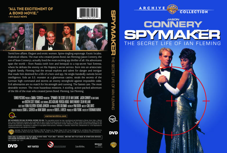 Spymaker The Secret Life of Ian Fleming DVD