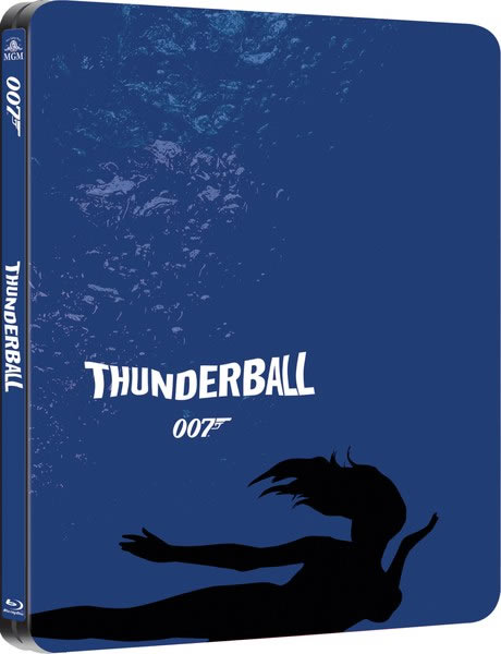 Thunderball limited edition steelbook Blu ray