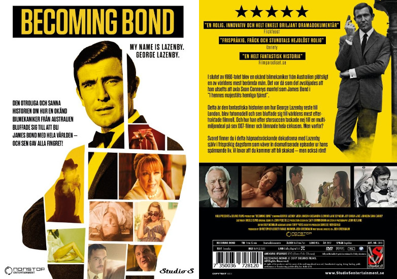 Becoming Bond George Lazenby DVD