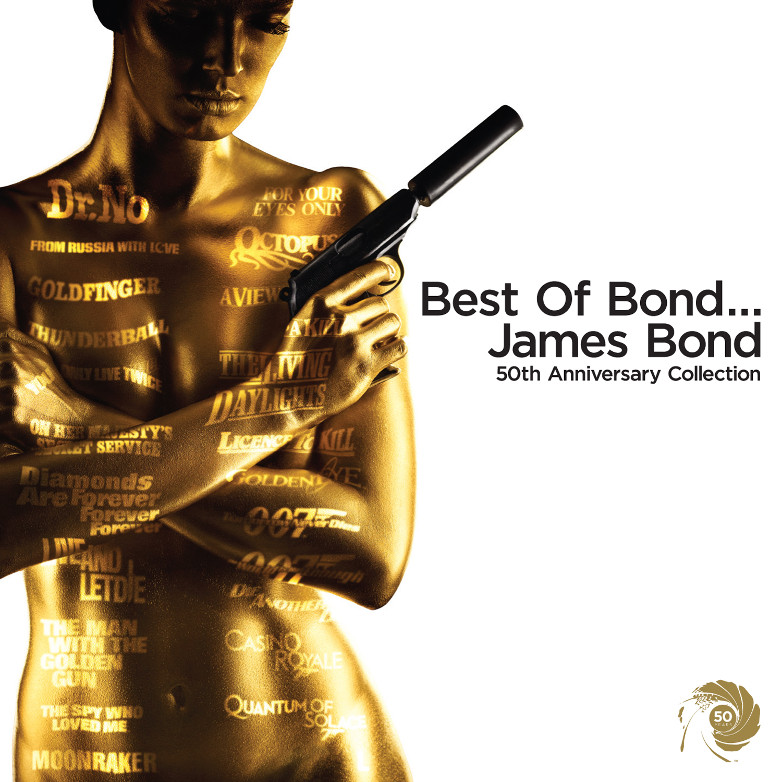 Best of Bond 50th anniversary CD