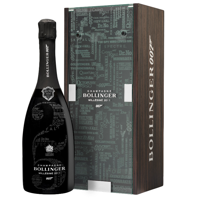 The Bollinger 007 Limited Edition Millésimé 2011