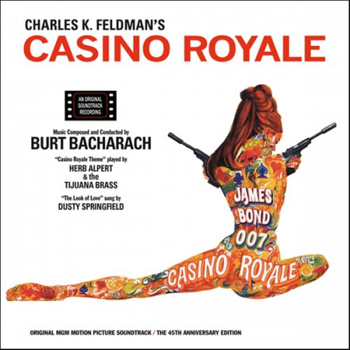 Casino Royale 1967 soundtrack CD