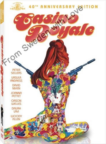 Casino Royale 1967 film DVD