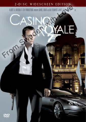 Casino Royale DVD UK