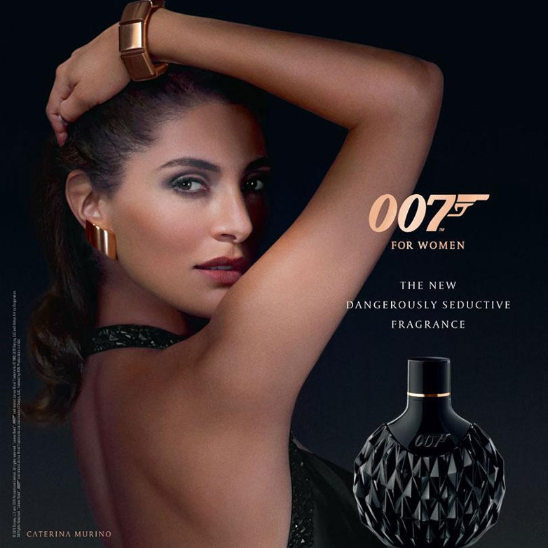 007 fragrance Caterina Murino