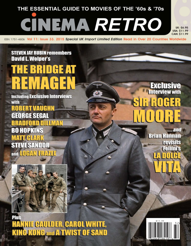 Cinema Retro magazine 33